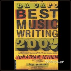 Da Capo Best Music Writing 2002 - Music Book