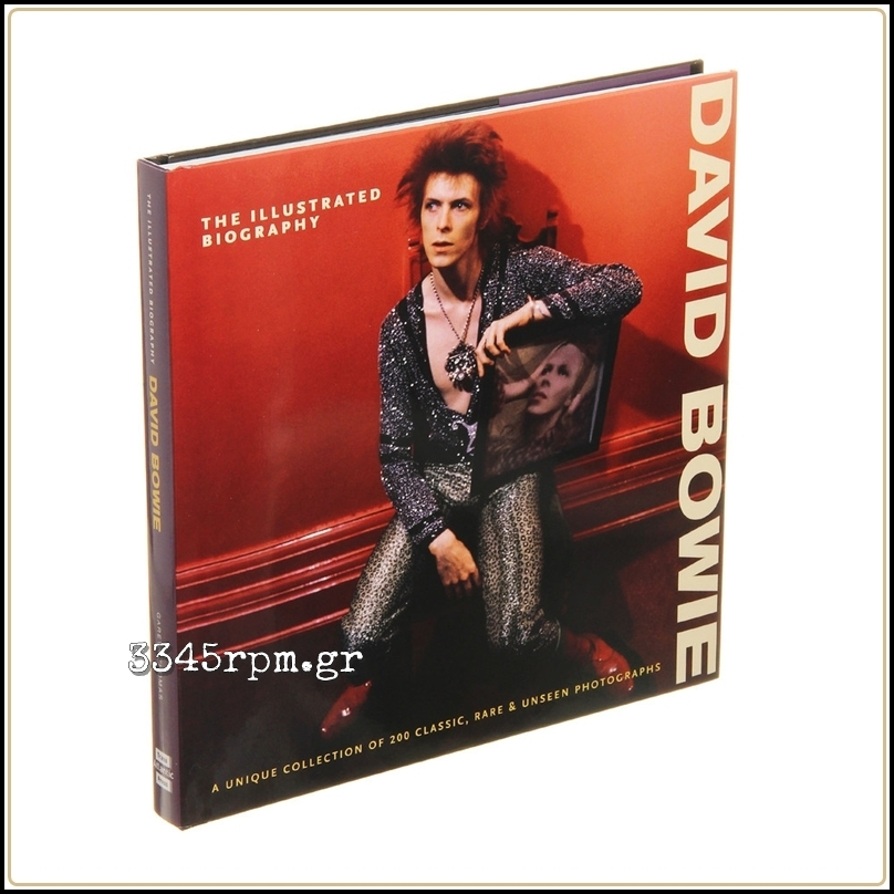 David Bowie - The Illustrated Biography - Music Book