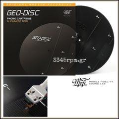 Geo disc Cartridge Alignment Tool - Mobile Fidelity MFSL