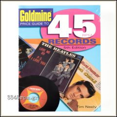 Price Guide to 45 RPM Records - Fifth Edition -Music Book