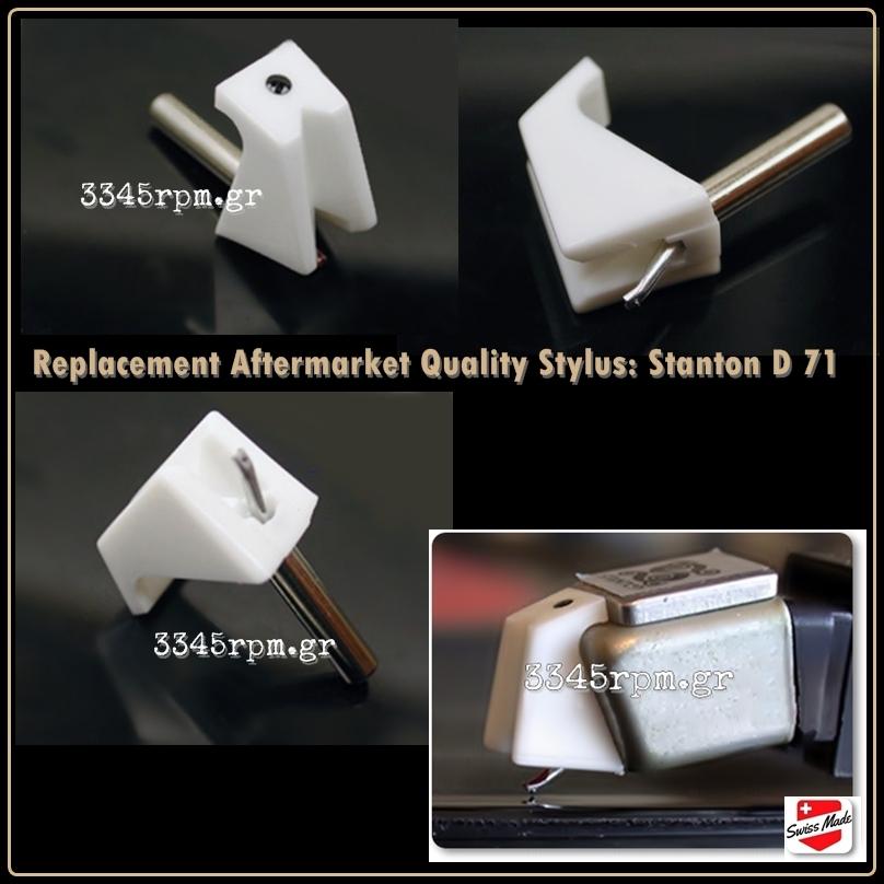 Stanton D 71 Diamond Stylus for turntable