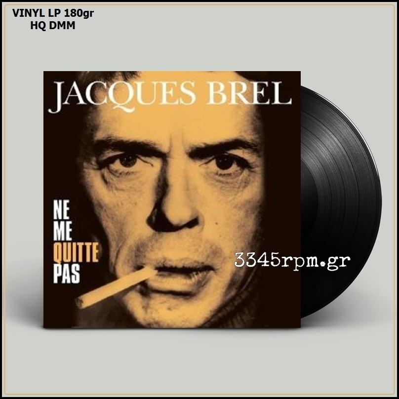 Brel, Jacques - Ne Me Quitte Pas - Vinyl LP 180gr