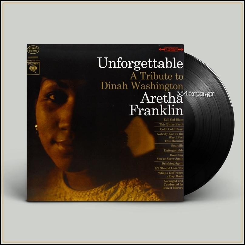 Franklin, Aretha - Unforgettable - Vinyl LP 180gr