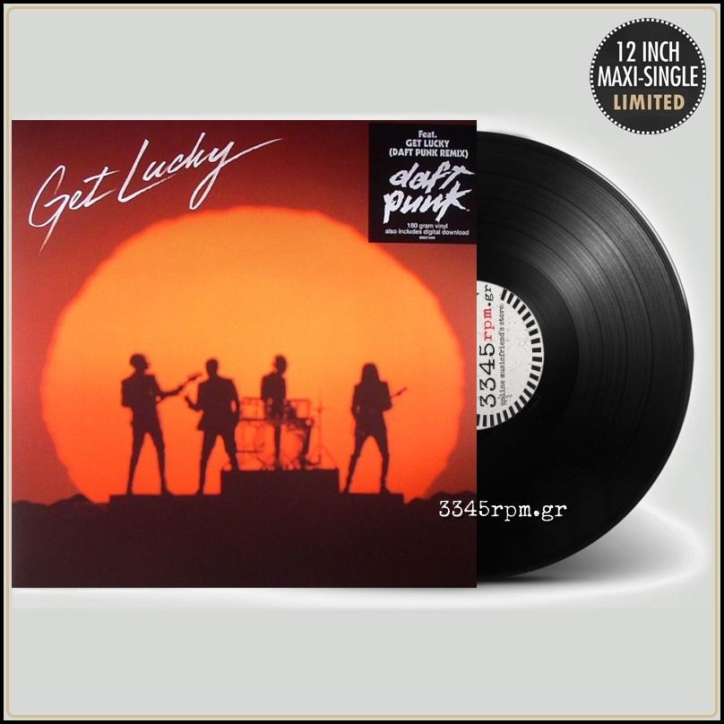 Daft Punk Get Lucky Vinyl 12inch 180gr Maxi Daft Punk