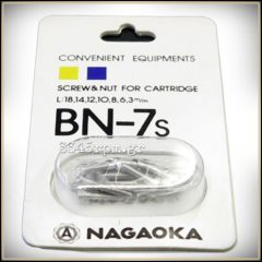 Nagaoka BN-7s -Screw & Nut for Cartridge (Set 26pcs)