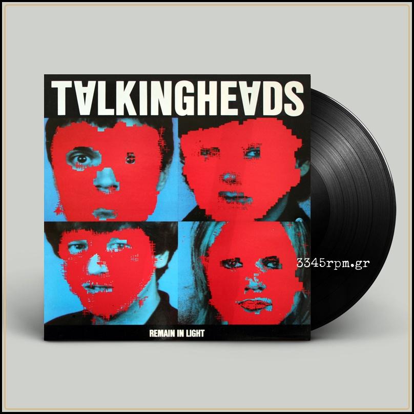 Talking Heads Remain In Light Vinyl Lp 180gr Talking