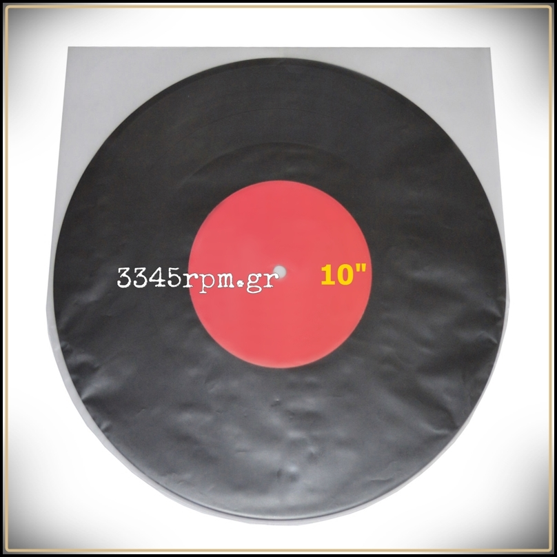 Antistatic inner sleeves 10inch Round Bottom - Vinyl aid P10 JAPAN