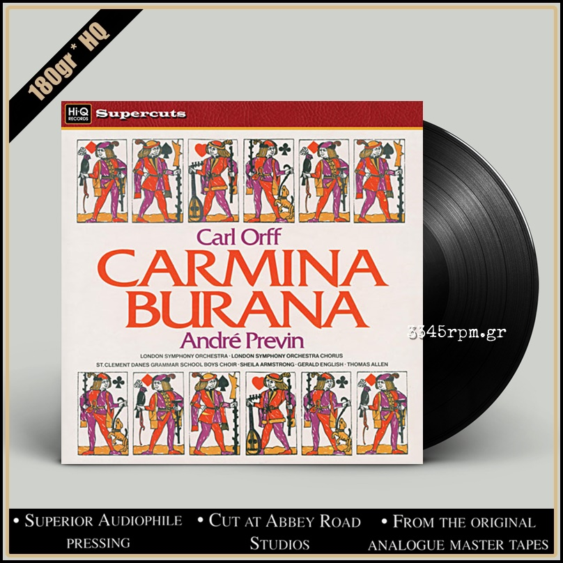 Carl Orff - André Previn - Carmina Burana - Vinyl LP 180gr HQ