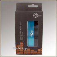 Deluxe Antistatic Carbon Fiber Brush for Vinyl Records-Blue