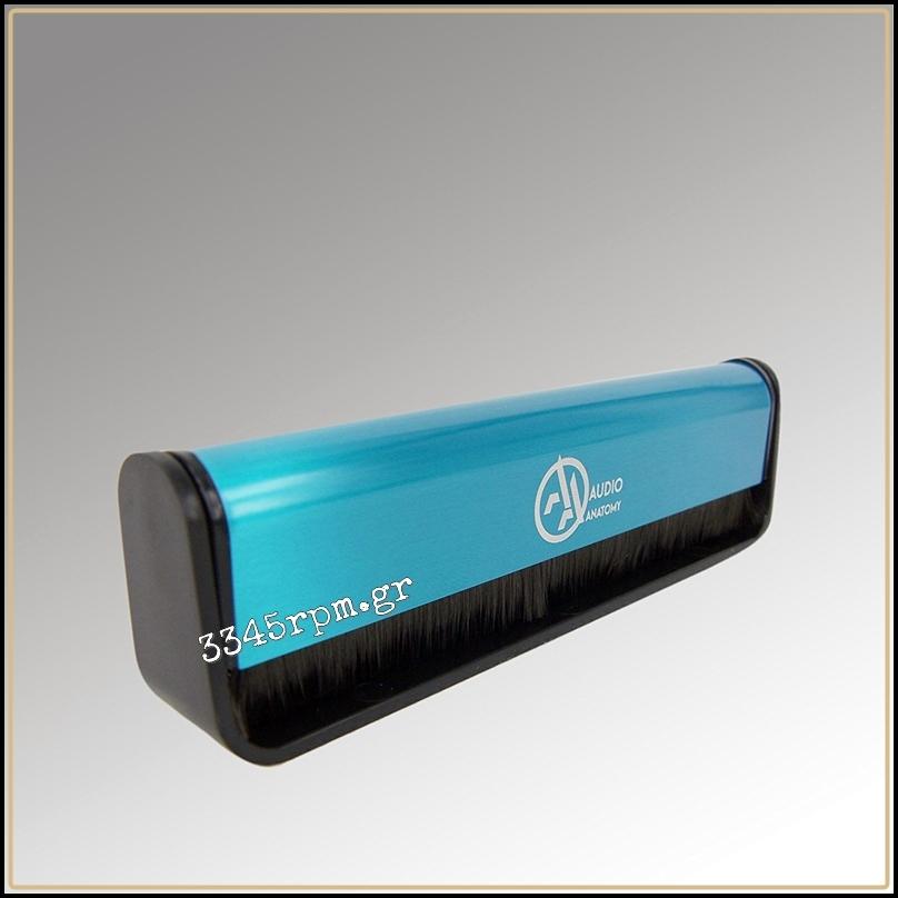 Deluxe Antistatic Carbon Fiber Brush for Vinyl Records - Blue
