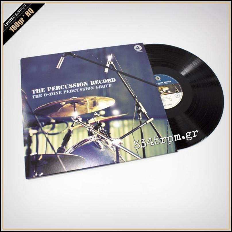 O-Zone Percussion Group - The Percussion Record - Vinyl LP 180gr HQ