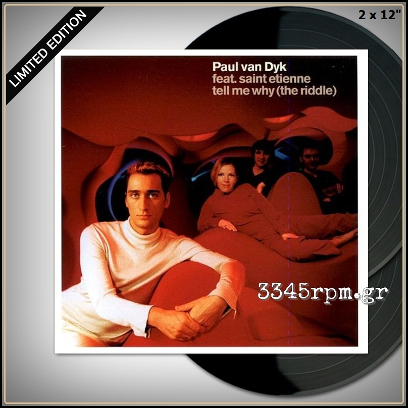 Paul van Dyk Feat. Saint Etienne - Tell Me Why - Vinyl 2x12inch