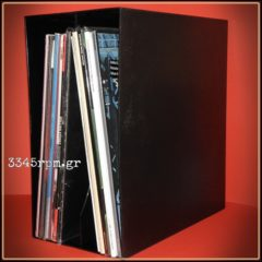 Storage box for 50 Vinyl Records-Box 50 Lp