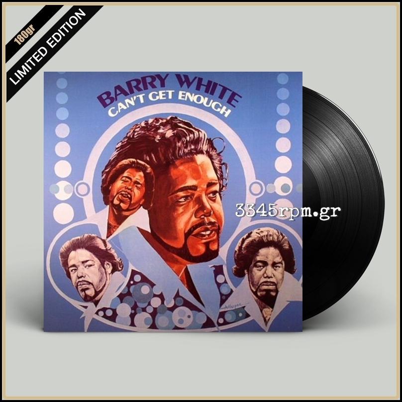 White, Barry - Can't Get Enough - Vinyl LP 180gr Limited