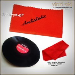 Anti-Static Record Cleaning Cloth Vinyl Aid