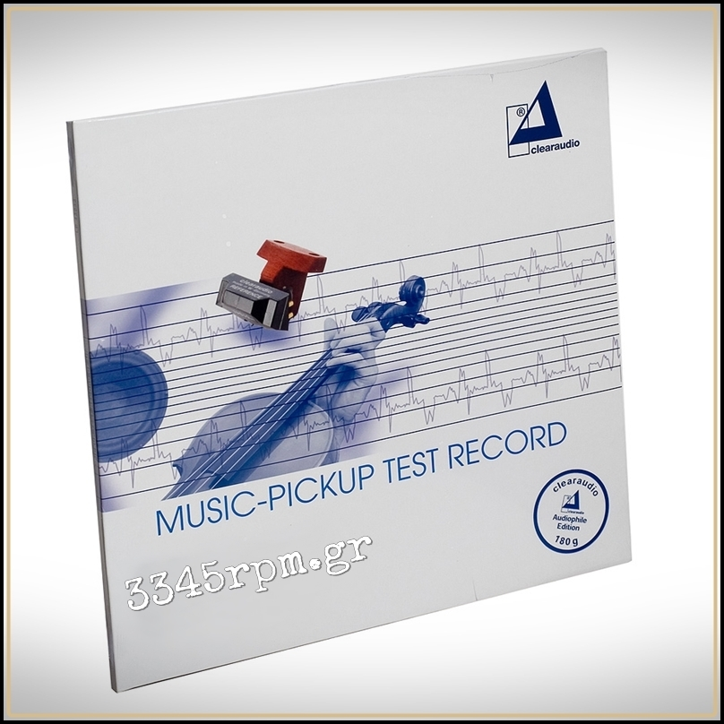 Clearaudio Music Pickup - Test Record Vinyl LP 180gr