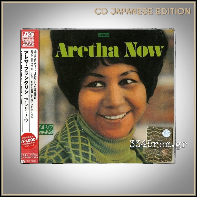 Franklin, Aretha - Aretha Now - CD Japan