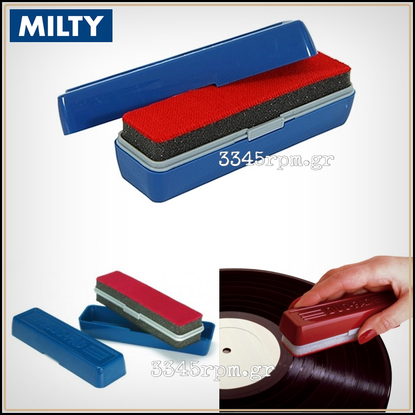 Milty Duopad Vinyl Record Cleaning Double Brush