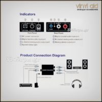 Mini DAC Digital to Analog Audio Converter-