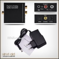 Mini DAC Digital to Analog Audio Converter_