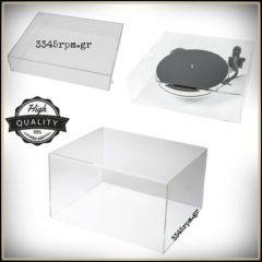 Protective Dust Cover for Turntable & Hi-Fi Equipment