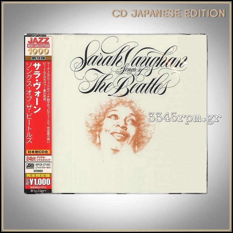 Vaughan, Sarah - Songs Of The Beatles - CD Japan