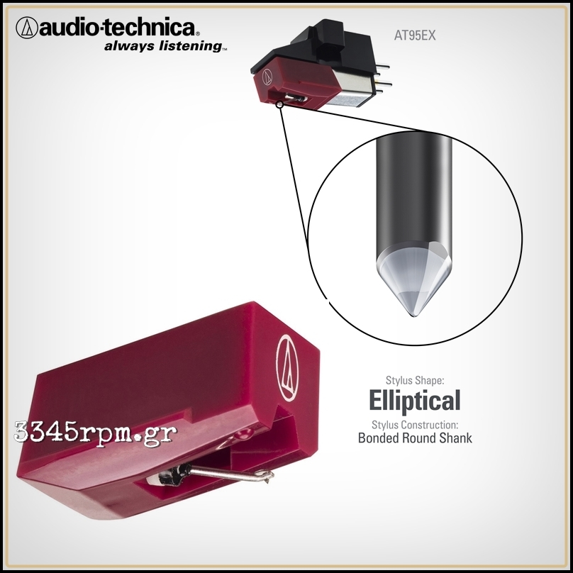Audio Technica ATN 95EX Stylus Upgrade for AT 95E