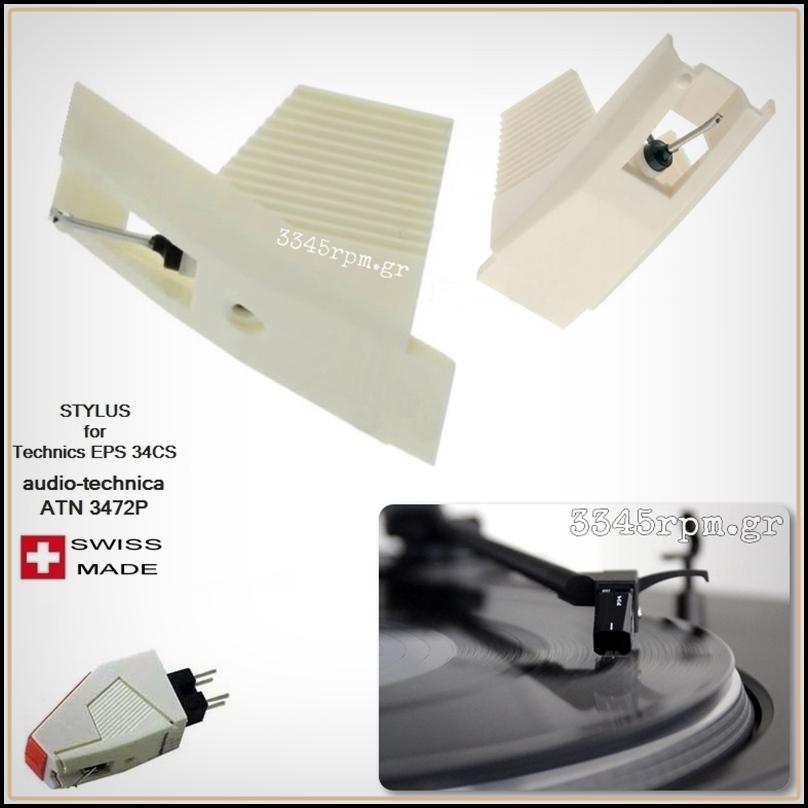 Audio technica ATN3472P - Technics EPS34CS Diamond Stylus