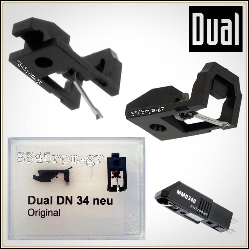 Dual DN 34 - MMD340, MDD345 Diamond Stylus