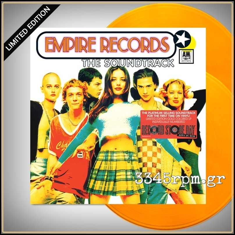 Empire Records OST - Colored Vinyl 2LP 180gr
