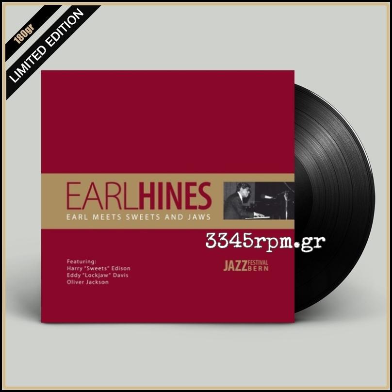 Hines, Earl - Earl Meets Sweets And Jaws - Vinyl LP 180gr