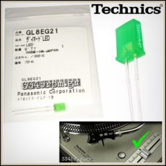 Technics Pitch Control LED Technics SL-1200MK2