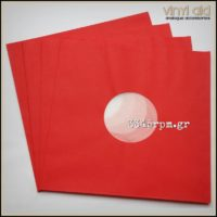 Antistatic Inner Sleeves for LPs - 12inch- Red