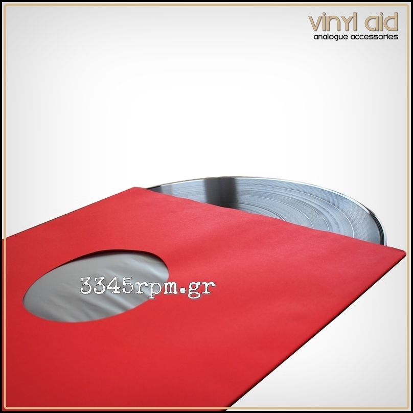 Antistatic Inner Sleeves for LPs - 12inch - Red