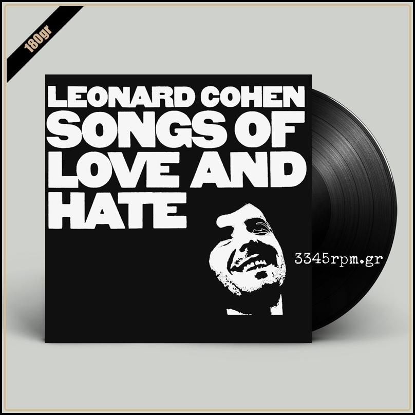 Cohen, Leonard - Songs Of Love And Hate - Vinyl LP 180gr
