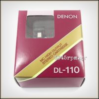 Denon DL-110 High Output Phono Cartridge MC_