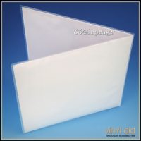 Gatefold Record Outer Sleeves LP -PVC crystal clear