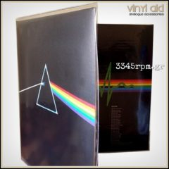 Gatefold Record Outer Sleeves LP - PVC crystal clear