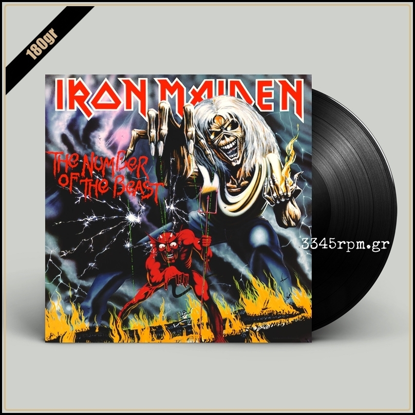 Iron Maiden - The Number Of The Beast - Vinyl LP 180gr