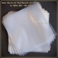 Outer Sleeves for Vinyl LP Records PE(20units)