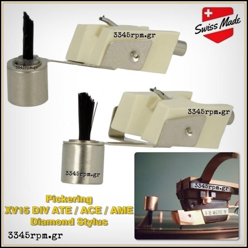 Pickering XV 15 DIV ATE ACE AME - Diamond Stylus