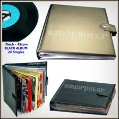 Storage album for Vinyl singles 7inch - 45s