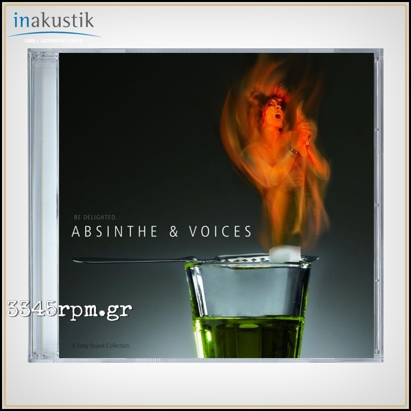 Absinthe & Voices - A Tasty Sound Collection - CD