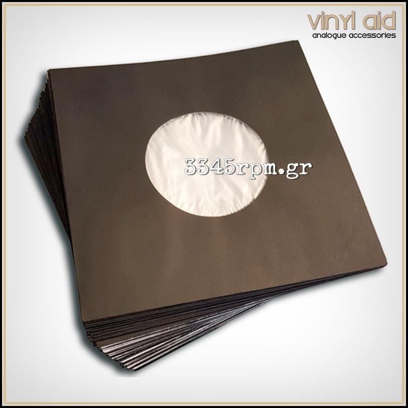Antistatic Inner Sleeves 7inch Single -Black