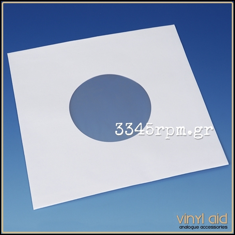 Antistatic Inner Sleeves 7inch Single - White 20pcs