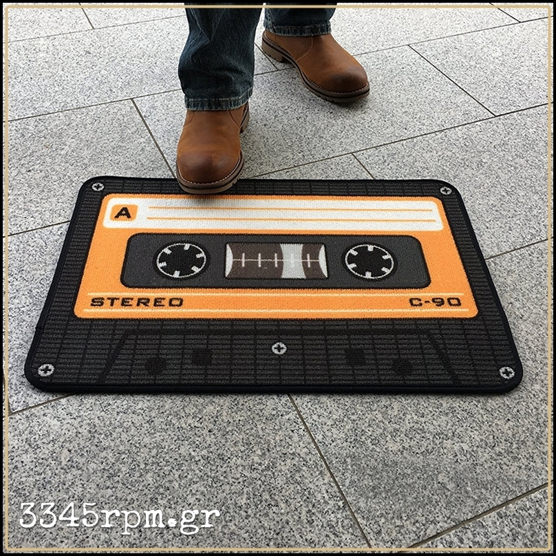 Tape Music Cassette Luxury Rug