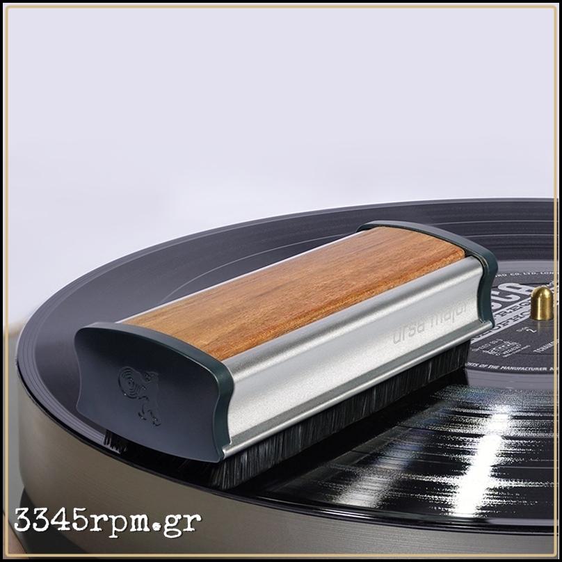 Ursa Major Carbon Fiber Record Brush Walnut