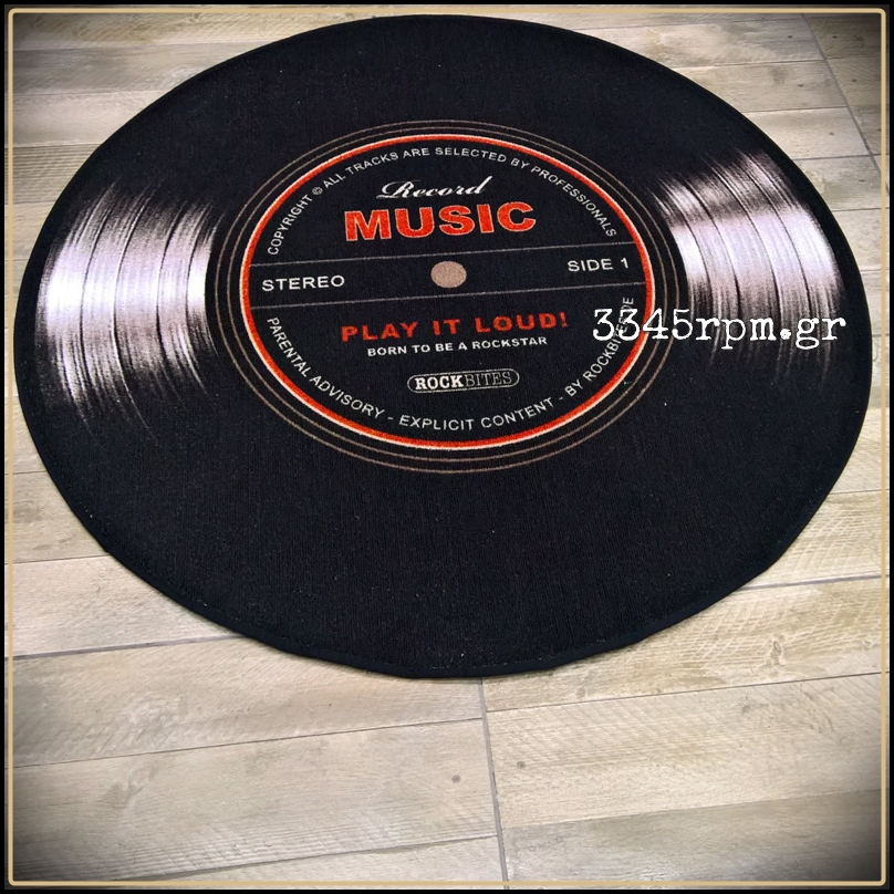 Vinyl Record LP Luxury Rug