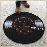 Vinyl Record LP Luxury Rug_