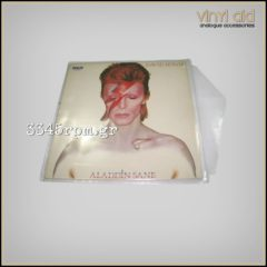 Vinyl Records Οuter Sleeves with flap for LP (10units)
